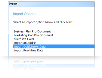 Import from Excel