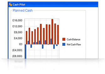 Visually track your cash flow