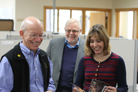 Congressman Peter DeFazio visits Palo Alto Software office