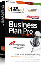Entrepreneur Magazine's business plan pro