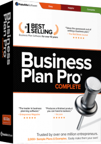 Business Plan Pro Standard Academic