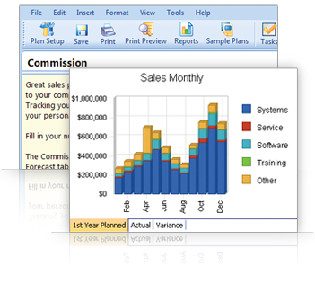 Simple sales planning for sales professionals