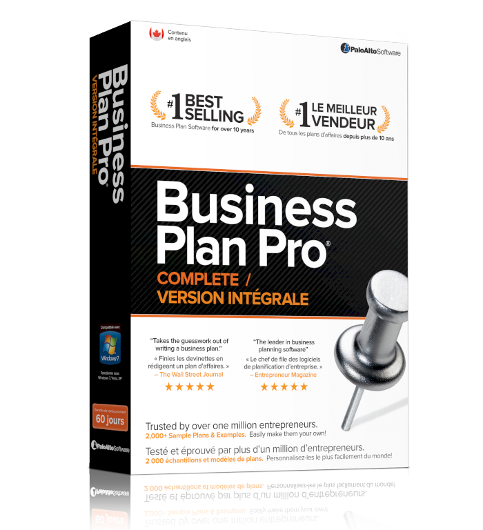 business plan pro complete by palo alto software
