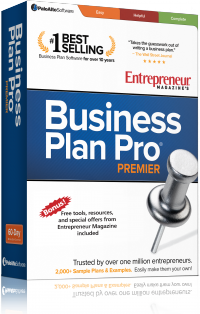 Entrepreneur Magazine's Business Plan Pro Premier Edition